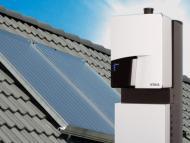 Q Solar met solarcollector rgb